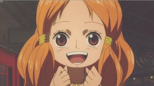 Nami kid is Cute!! by FrankyZaraki