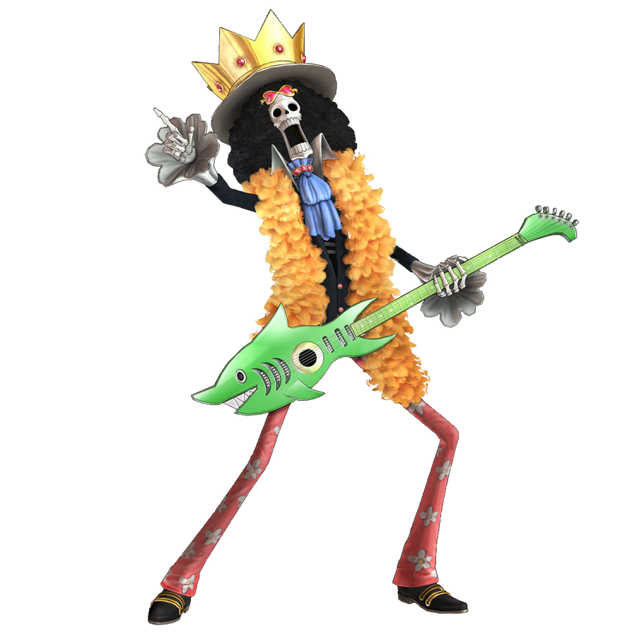Brook Pirate Warrior 2 render by FrankyZaraki on DeviantArt