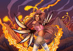 Taranee's wrath by renoskiller44