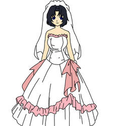 Me in my wedding gown(updated)