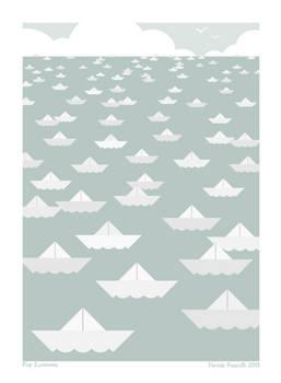Pop Economix - paper ships