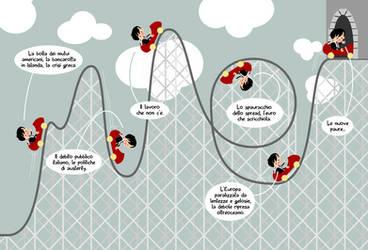 Pop Economix - rollercoaster