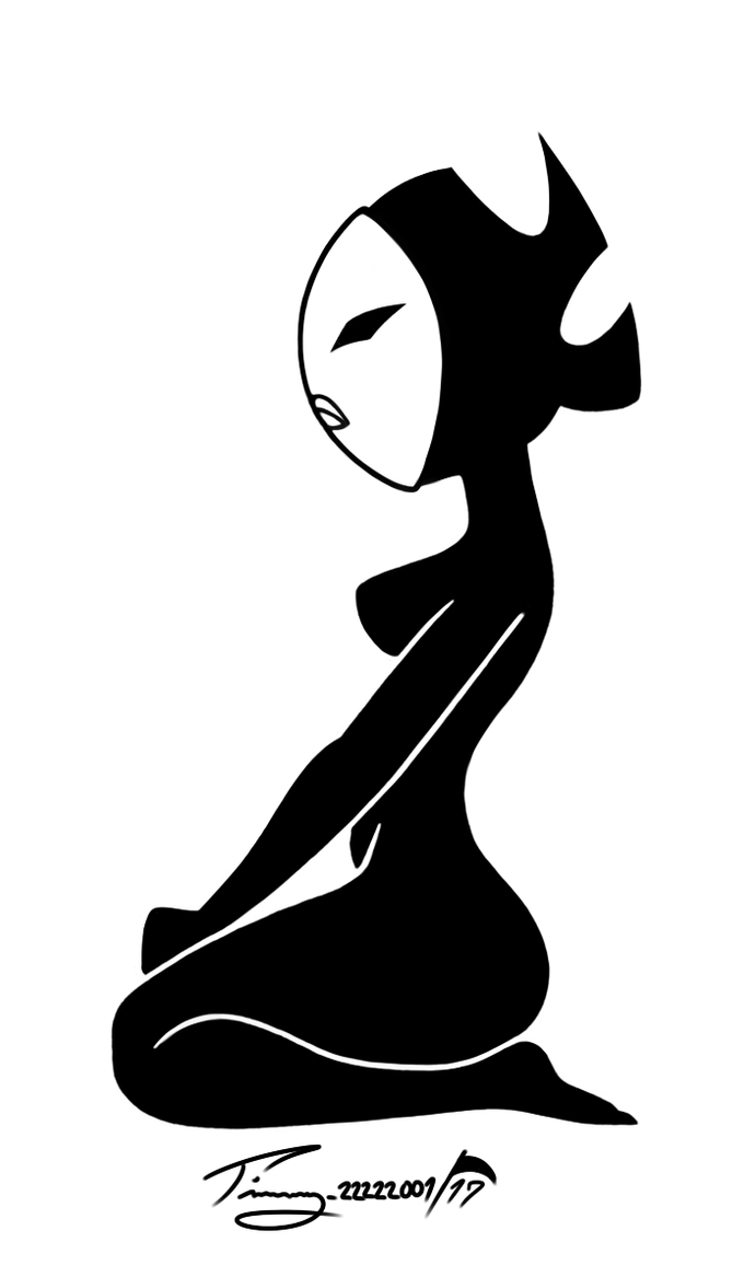 My Little Decal - Daughter of Aku by Timmy22222001