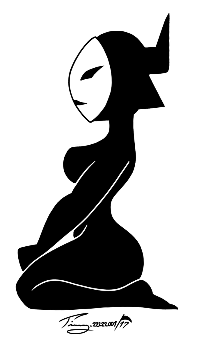 My Little Decal - Daughter of Aku (Thick) by Timmy22222001