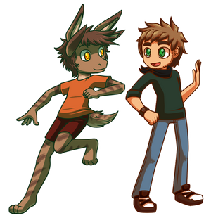 Commissioned - Chib'ed Marc and Kai