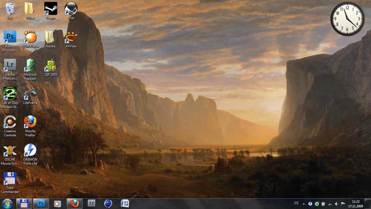 Desktop screenshot - Windows 7 by Scortis