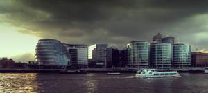 Plague over Thames River