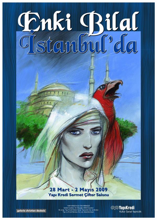Enki Bilal in Istanbul by seruven