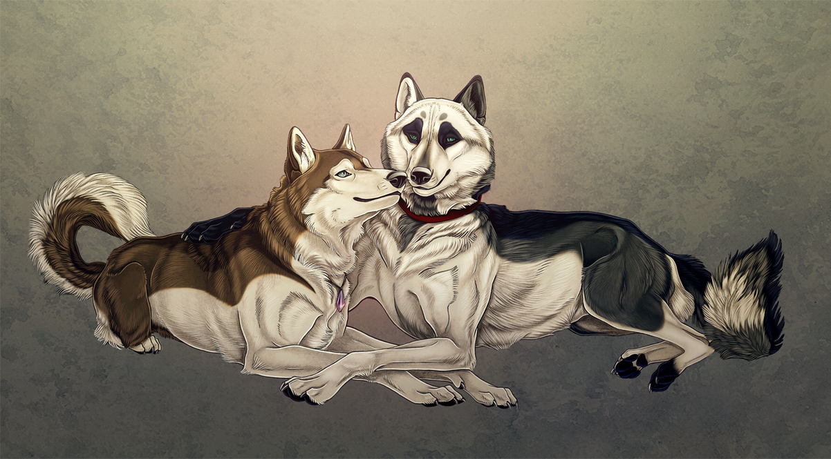 Rachelle and Rocky by Seaff