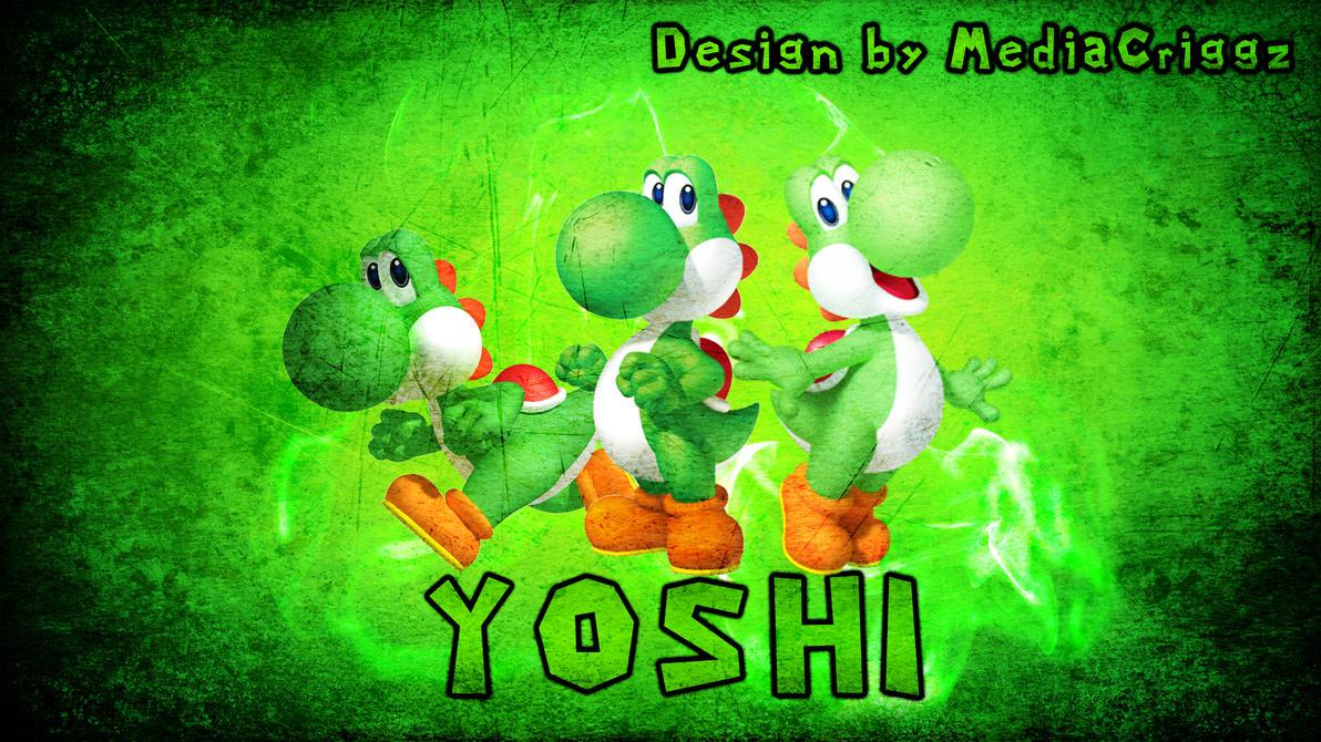 yoshi wallpaper by mediacriggz on deviantart