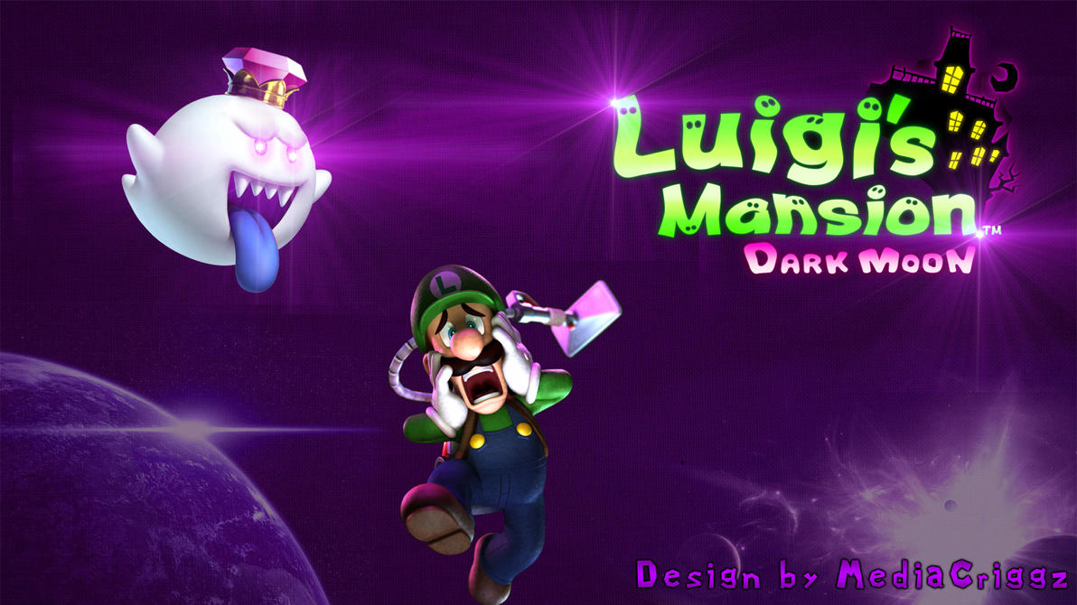 Luigis Mansion Wallpaper Version 2 By MediaCriggz