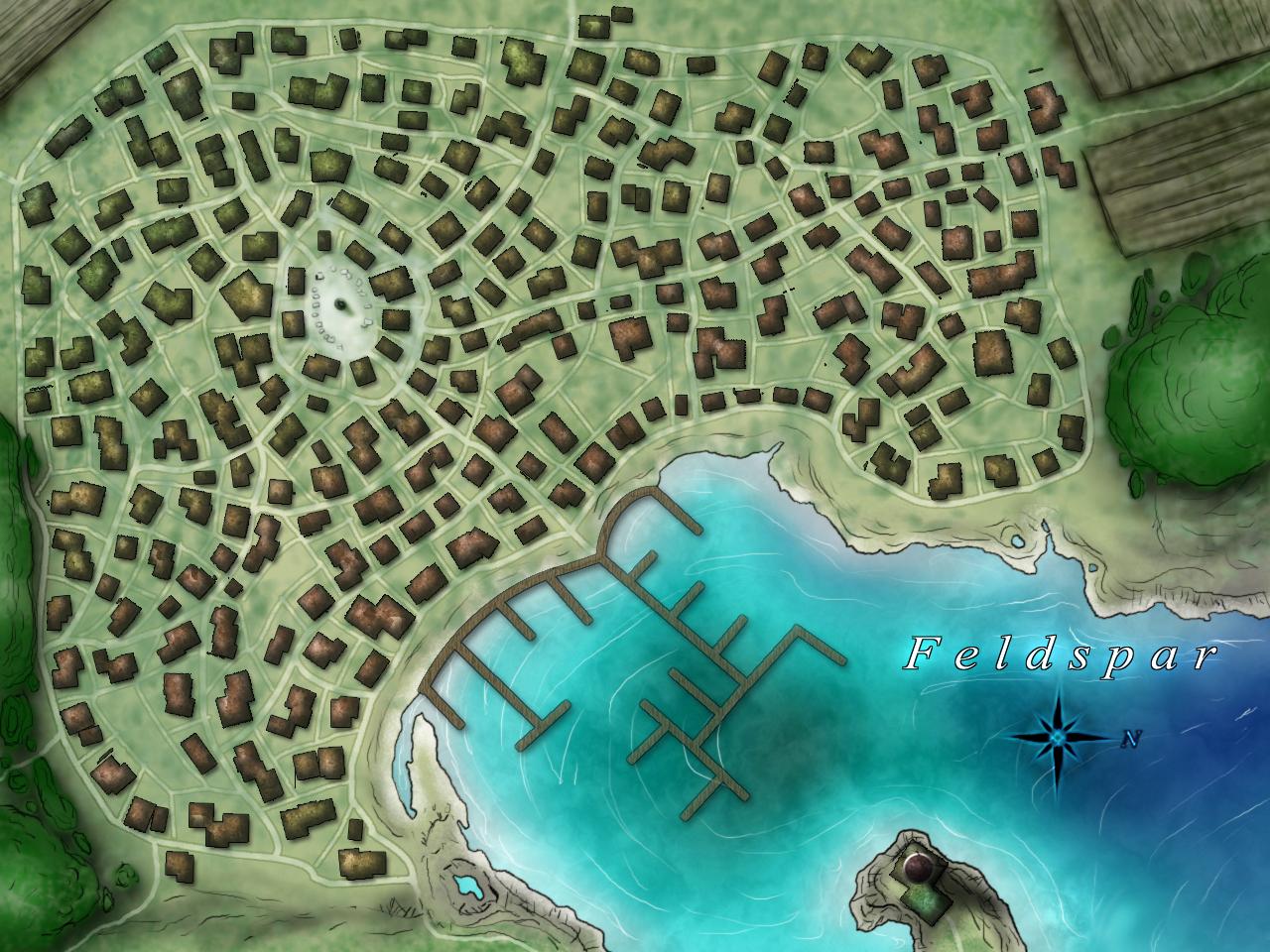 Hyperion Islands - Feldspar by EjLowell