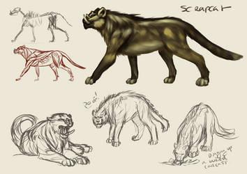 Lisernar Fauna - Scrap Cat