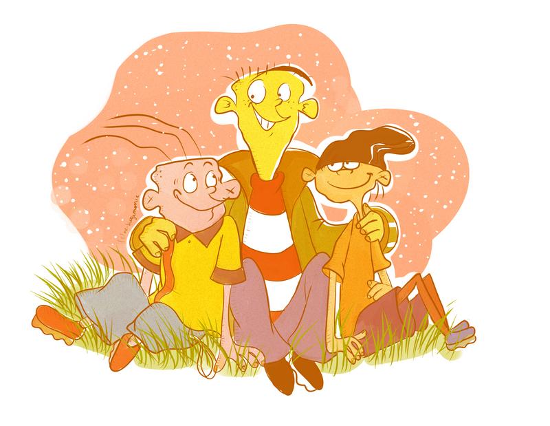 Three best friends by Hegichern
