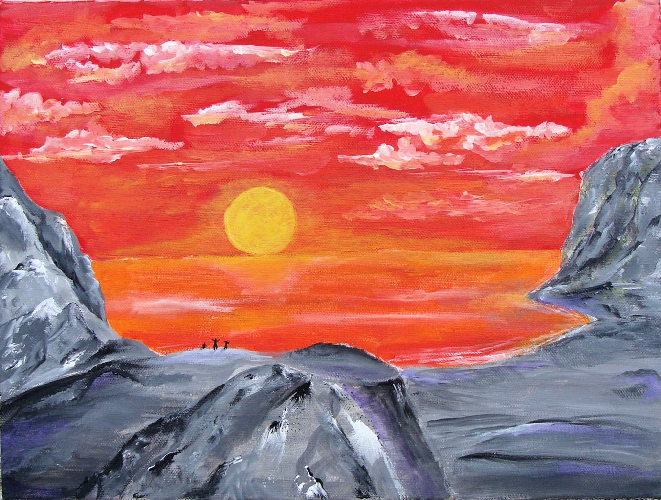 Journey XVIII - Sunset Bay by sanntta82