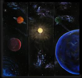 Space in Bubble by sanntta82