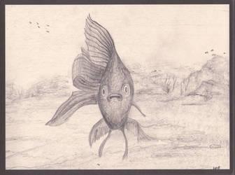 Sea Monster - quick sketch by sanntta82