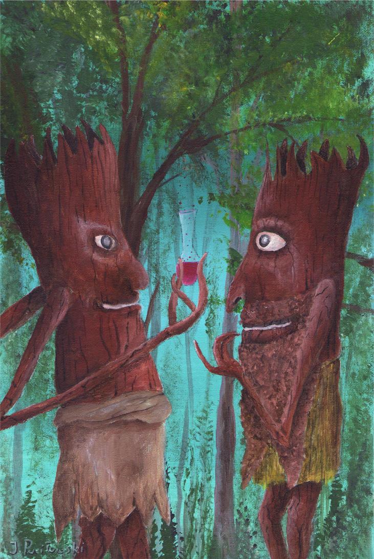 Tree People Magic - part 2 by sanntta82
