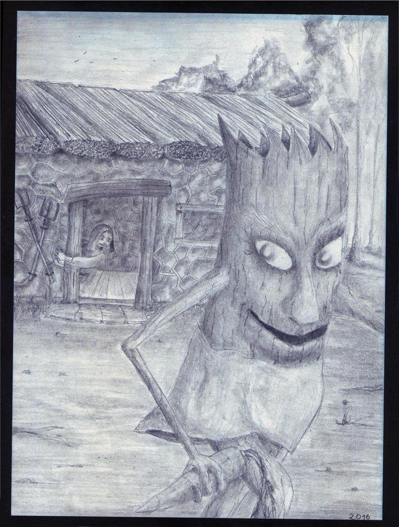 The Heist - Tree People part 3 by sanntta82