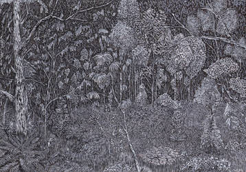Eerie Forest 5 by sanntta82