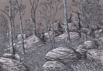 Eerie Forest 7 by sanntta82