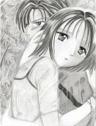 Aya and Yuhi by star-petals