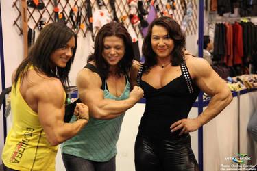 katka kyptova, Oana Hreapca and Alina Popa