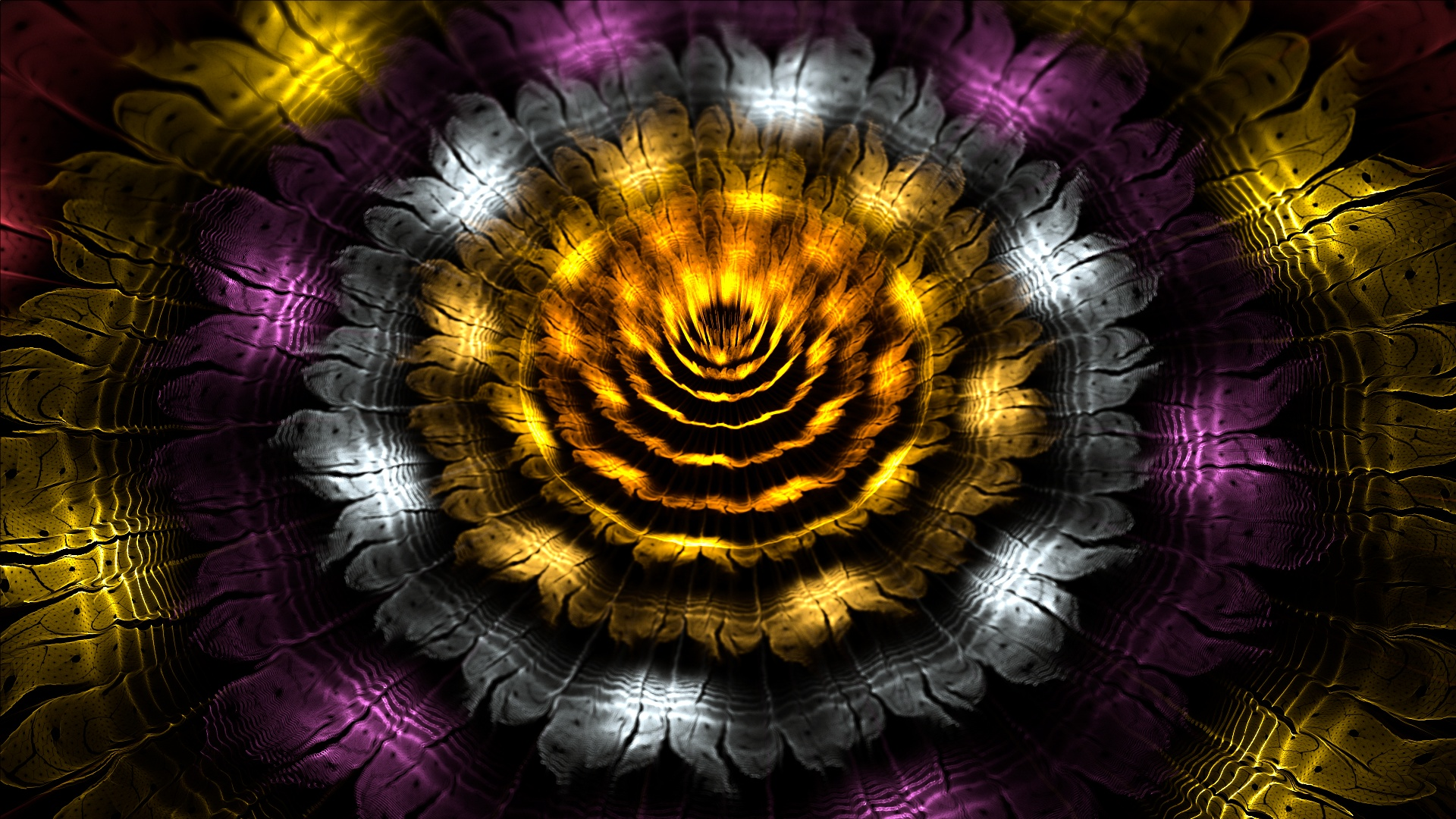 Metallic flower by thargor6