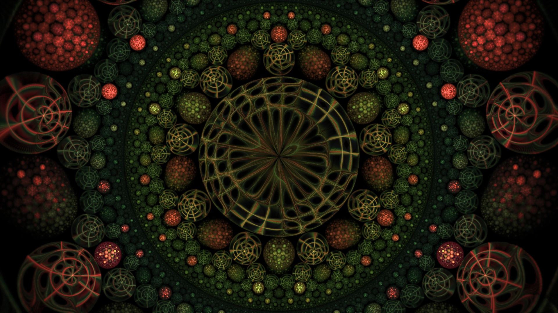 Hyperbolic garden by thargor6