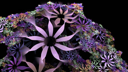 Flower island by thargor6