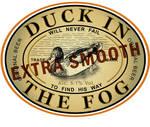 duck in the fog by piorun
