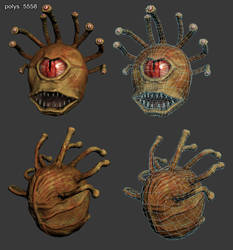 Beholder - low poly model by piorun