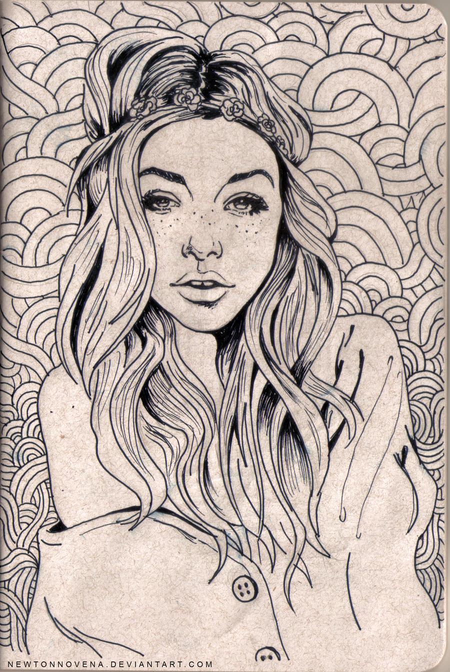 Tumblr Girl by newtonnovena on DeviantArt