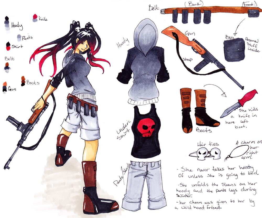 Ziva Da'vi a Bounty hunter by Avverix-Deaguta