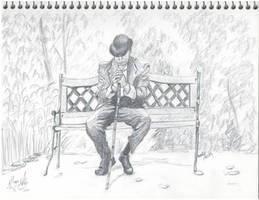 Park Bench by INKYSEA