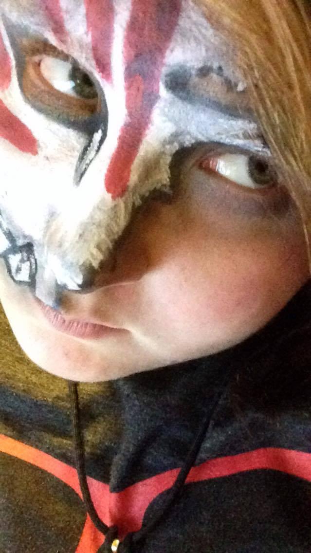 Ichigo Fractured Hollow Mask Speedpaint #14 by Insidemymind18