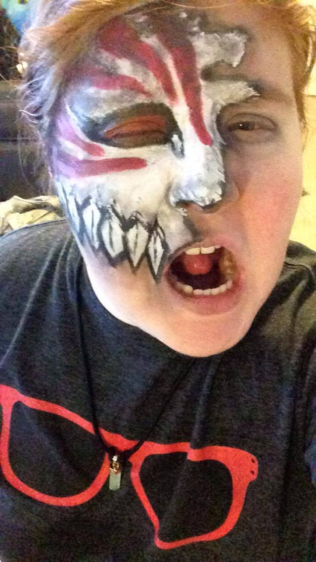 Ichigo Fractured Hollow Mask Speedpaint #17 by Insidemymind18