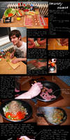 How to make yakisoba-omusoba
