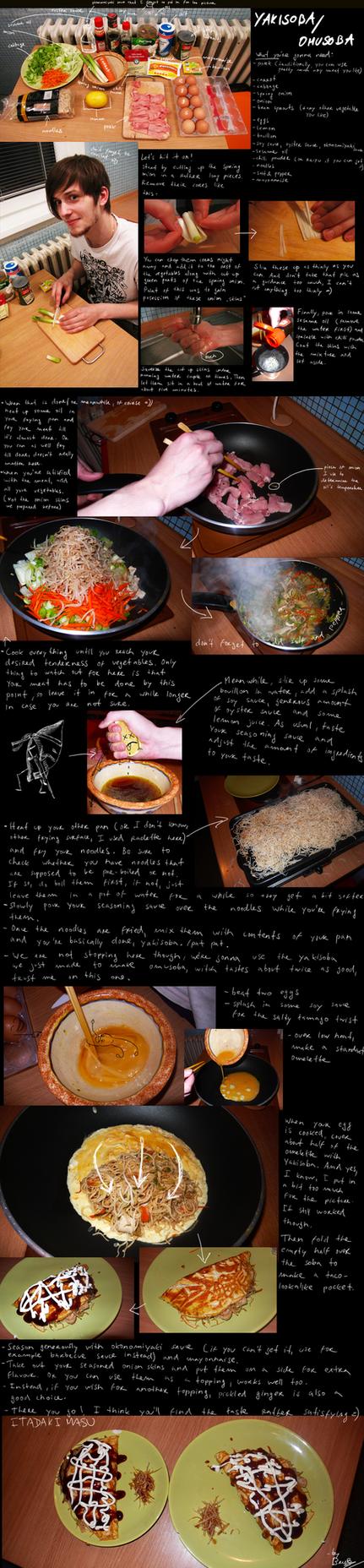 How to make yakisoba-omusoba by BrocX