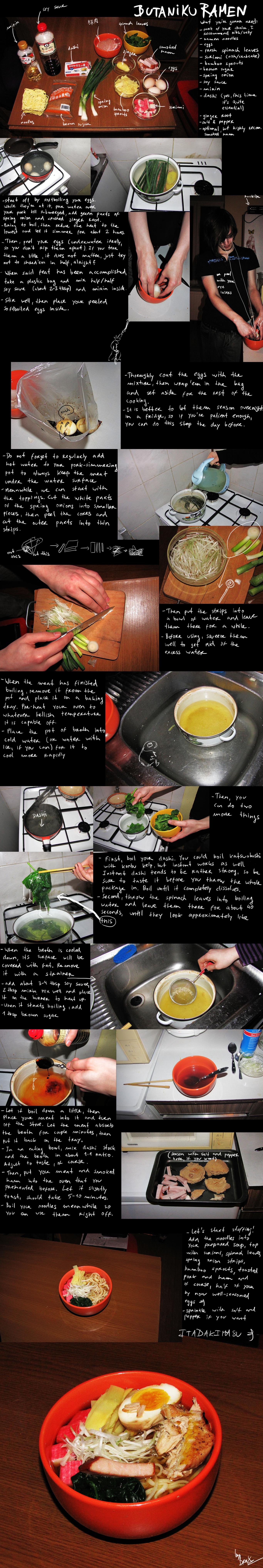 How to make butaniku ramen by BrocX