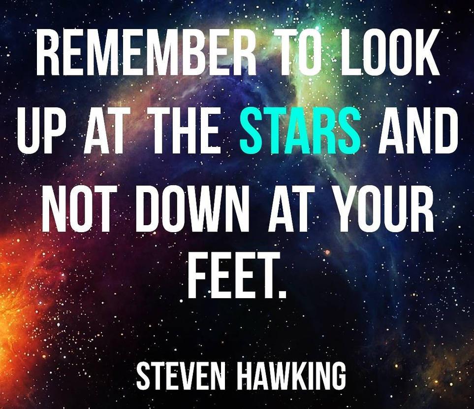 RIP Steven Hawking by savrom