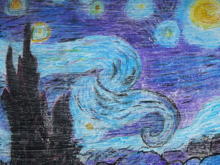final essay on starry night correction Essay about vincent van gogh and his contribution to art 1110 words mar 8th, 2011 5 pages show more art has been essential to civilization it tells us what our.