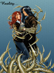 Sara and Ian v2 w background by Witchblade-Club