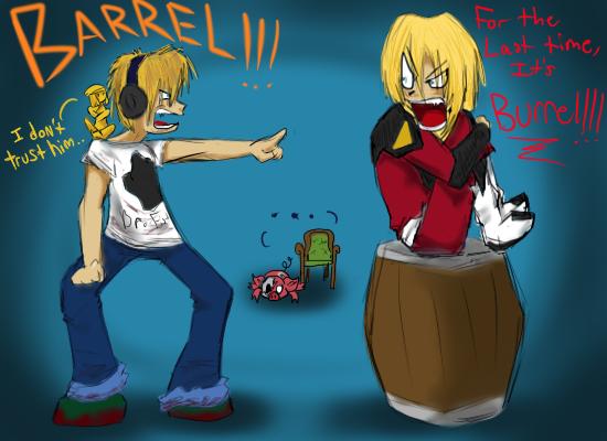 Gundam For The Barrel: PewDiePie Meets.... Barrel? By Smash-Wolf On DeviantArt