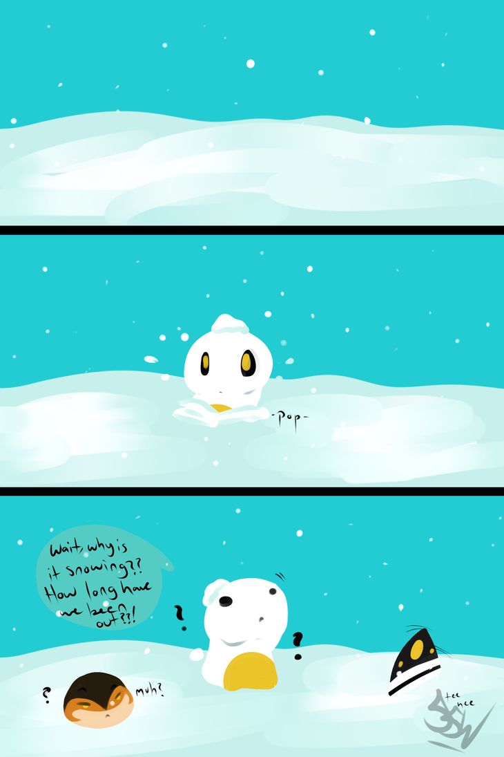 Deep Freeze by SuperSmashWolves