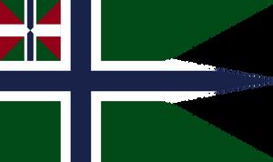Naval Ensign And War Flag of Arendelle