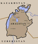Map of Aralstan