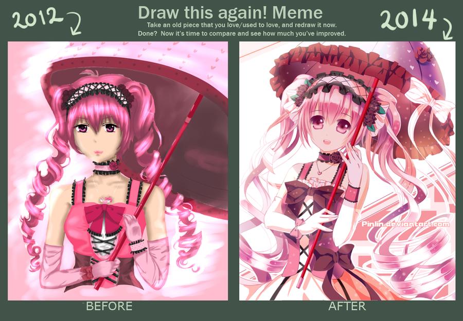 Draw Again Meme 2012 - 2014 by Pinlin