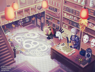 Antique shop Kourindou by Pinlin