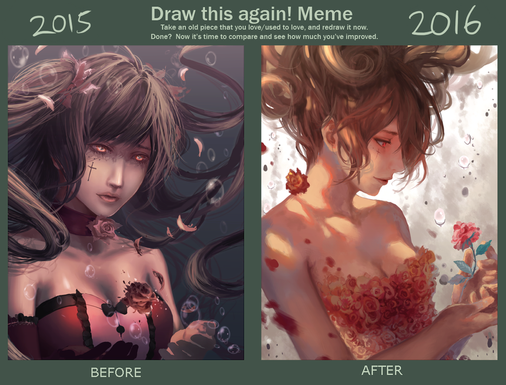 Draw Again Meme 2015-2016 by Pinlin